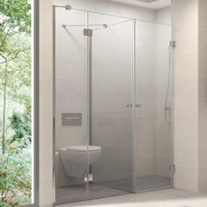 Mamparas de baño Aluminios Almazán